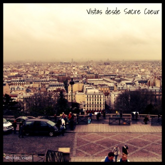 Vistas Sacre Coeur